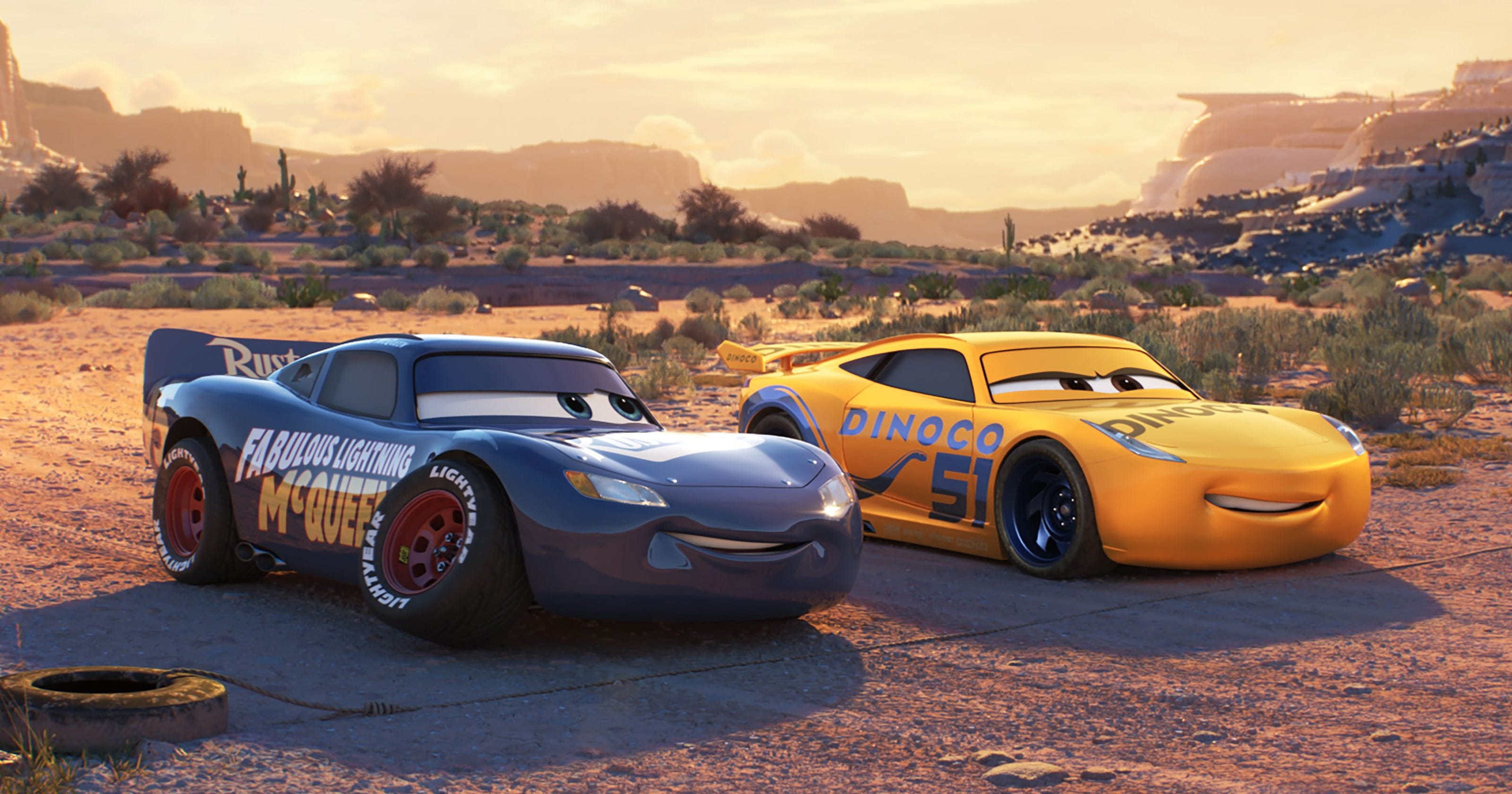 Cars 3': Why Lightning McQueen got a new paint job (spoilers)