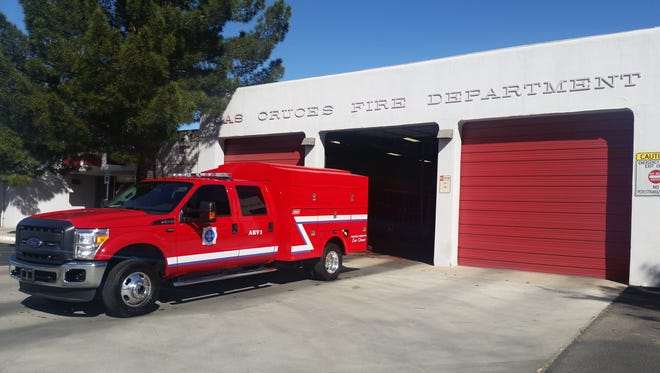 "The Las Cruces Fire Department unveiled its new ""alternate response vehicle"" on Friday at Fire Station 1, 201 E. Picacho Ave.,"