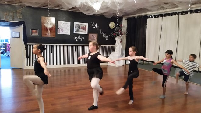 "Local 8- to 11-year-olds audition Saturday to be part of December's ""Nutcracker"" production at Yerington's Studio Academy of Dance and Music in Weed Heights."