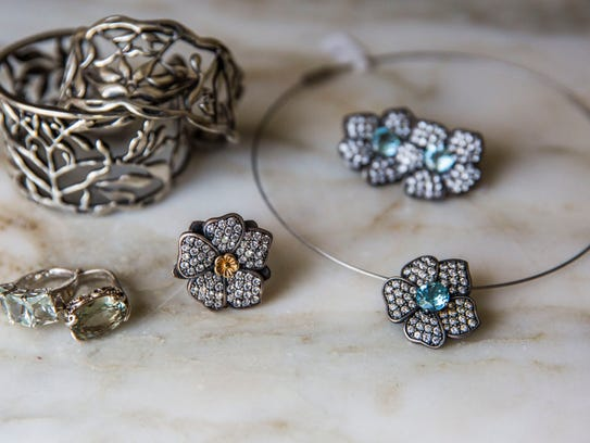 Jewelry pictured at A. Jaron Fine Jewelry on Bayshore