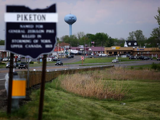A view of Piketon, Ohio, from US 23.