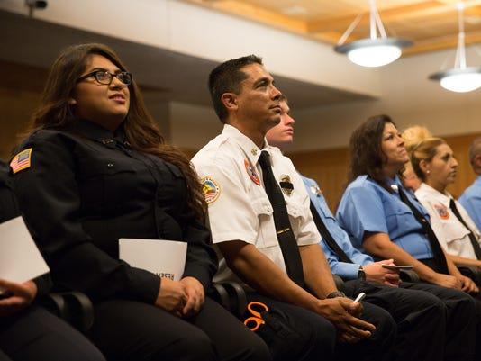 082616 Firefighter Graduation