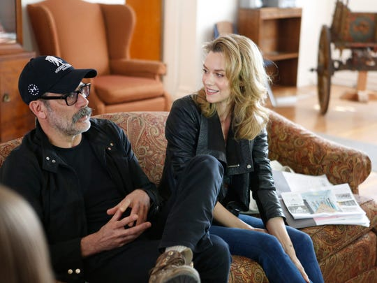 Actors Jeffrey Dean Morgan and Hilarie Burton are leading efforts to renovate the Astor Services for Children and Families in Rhinebeck on Apr. 11, 2017.  The renovations will start with the 4 existing wings of the facility with the goal to raise funds to build a whole new wing.