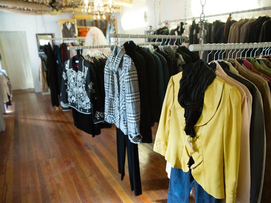Fashionable clothing gets a second life at My Rich Sister's Closet in Mesilla.