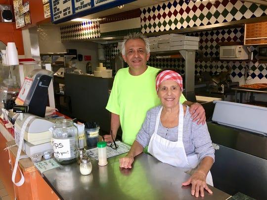 Rosaria Leone and her son, Armando Leone, reopened