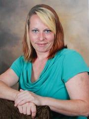 A portrait of Jolene Berger-Bowman taken just months