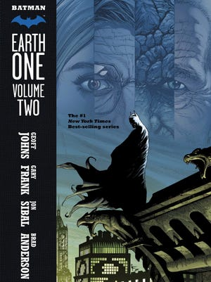 """Geoff Johns and Gary Frank continue their distinct look at the Dark Knight with """"Batman: Earth One Volume Two."""""""
