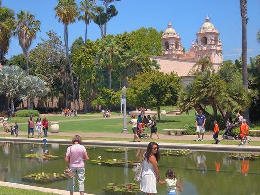 Balboa Park is San Diego's most famous park.