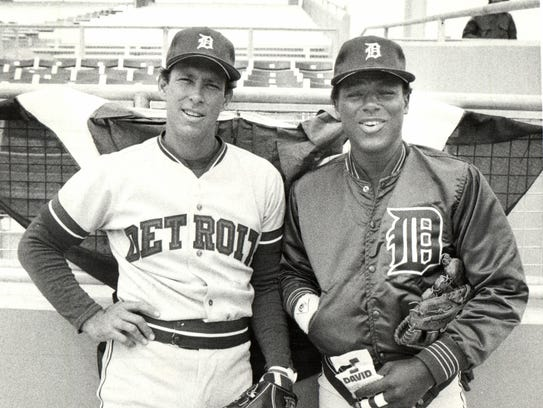 Alan Trammell and Lou Whitaker patrolled the middle