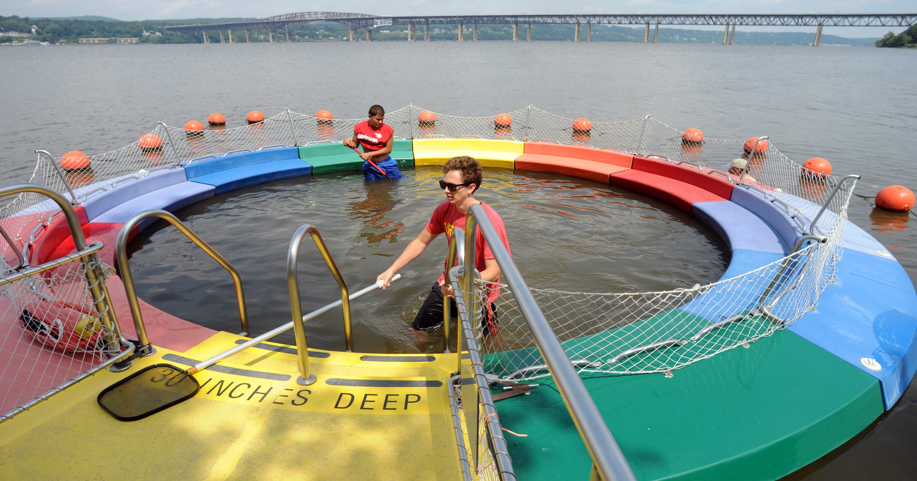 Image result for River Pool at Beacon Riverfront Park