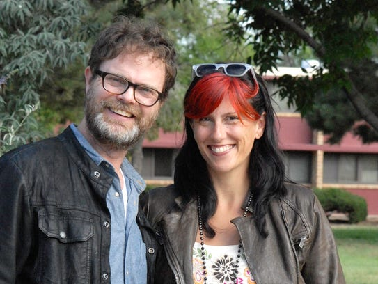 Actor Rainn Wilson, best known for playing Dwight Schrute