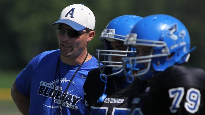 Ryan Bargender is leaving Athens to become the principal at Abbotsford.