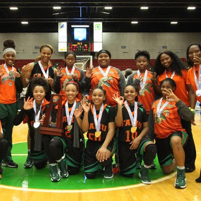 The FAMU DRS girls basketball team captured the FHSAA