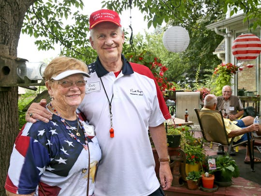 """For 48 years, Bob Dohnal and his wife Jean Dohnal have hosted a picnic for Republicans at their home, called the """"Chicken Burn"""".  It gives Republican elected officals and candidates a chance to speak, and meet the people that vote for them and work to get them into office."""