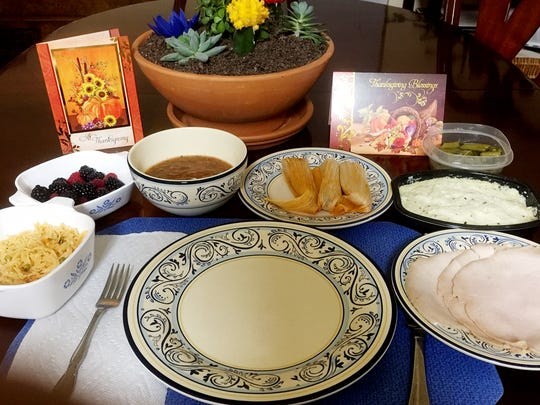 Thanksgiving at the Trenado house is always a wonderful cultural exchange of Mexican food and turkey.
