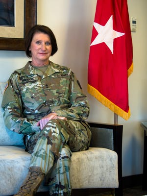 Major General Sheryl E. Gordon assumed her duties as the 42nd adjutant general and first female adjutant general of the Alabama National Guard on July 28, 2017.