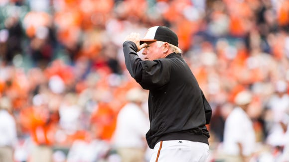 Buck Showalter has been the Baltimore Orioles' skipper since 2010.