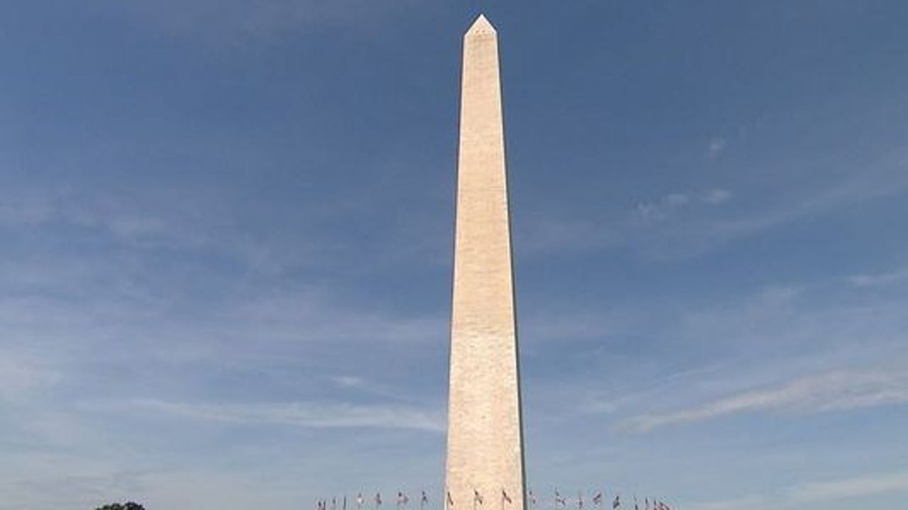 The Washington Monument closes for elevator system repair.
