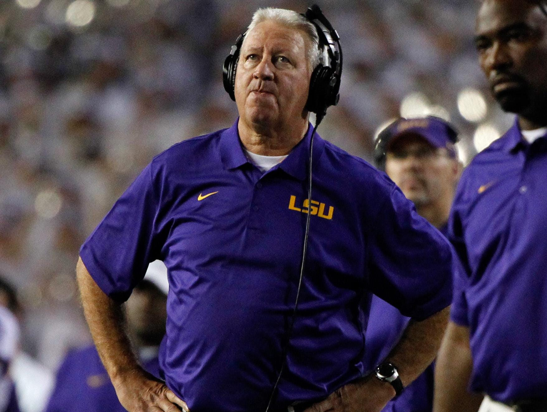 LSU offensive coordinator Cam Cameron has been treated for prostate cancer.