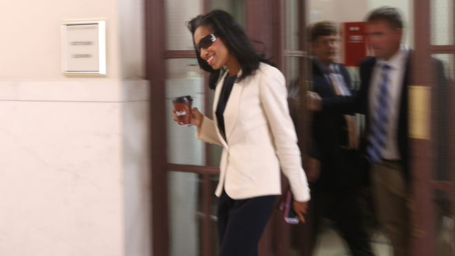 Hamilton County Juvenile Court Judge Tracie Hunter's criminal case resumes Monday.
