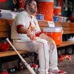 Cardinals starting pitcher Lance Lynn allowed seven hits and four runs in five-plus innings of work against the Rockies on Saturday night. Colorado won 6-2.