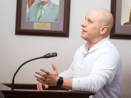 Millville athletic trainer Dan Richter talks about