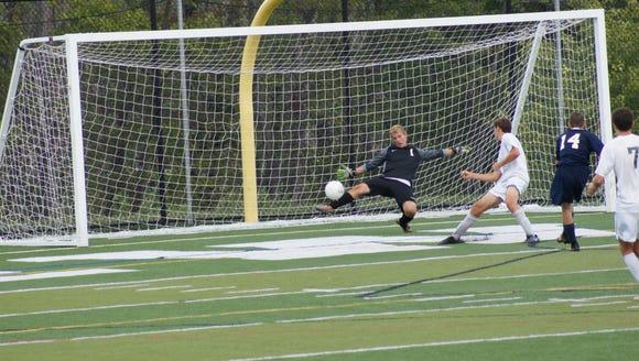 Brewster goalkeeper Michael Charbonneau will be a key