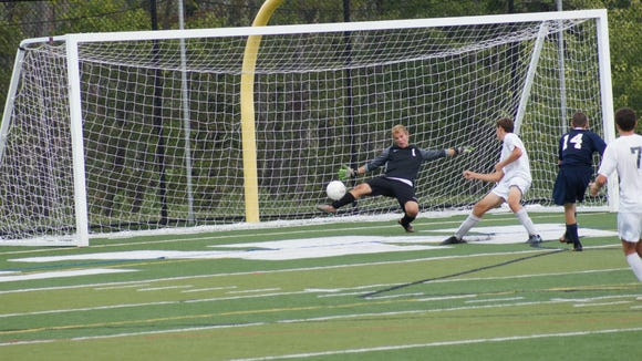 Brewster goalkeeper Michael Charbonneau will be a key