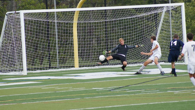 Brewster goalkeeper Michael Charbonneau will be a key player in 2017.