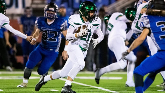 Senior Ryan Montgomery will step into the starting running back role as the Bulldogs prepare to battle for a playoff berth in a competitive district.
