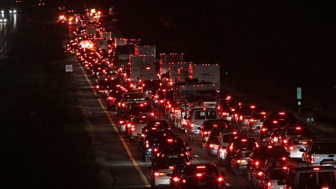 AAA predicts 46.9 million people will travel 50 miles or more this Thanksgiving holiday, the most since 2007.