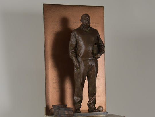 Artist Derek Chalfant's model of the proposed E.L.