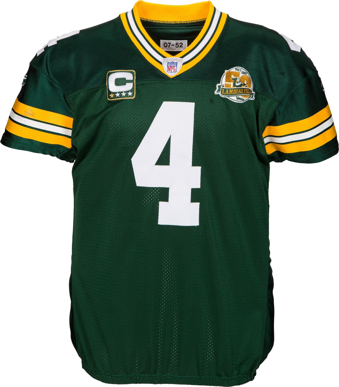 historic brett favre jerseys to be auctioned rh greenbaypressgazette com