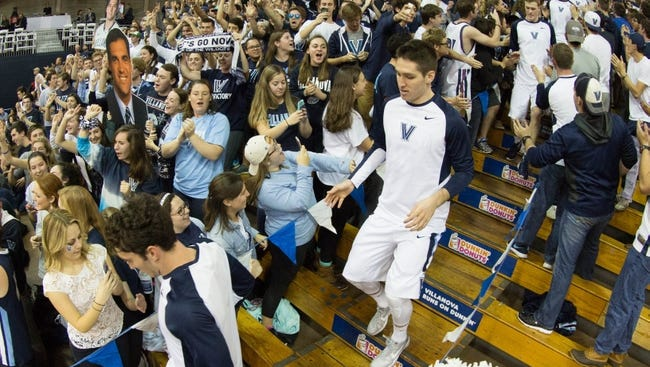 Villanova should be ranked in the top 10 as the highest Big East team.