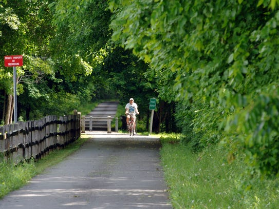 In Dutchess, the Harlem Valley Rail Trail runs from