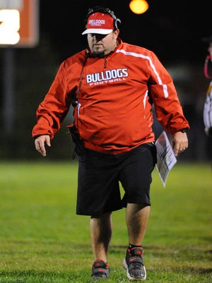 Laurel head football coach Glenn Phillips Jr.