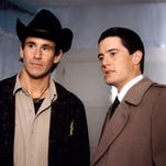 "Dust off your cherry pie jokes: ""Twin Peaks"" will return in the first half of 2017. Kyle MacLachlan, right, with Michael Ontkean in the ABC original, will revive his role as FBI agent Dale Cooper."