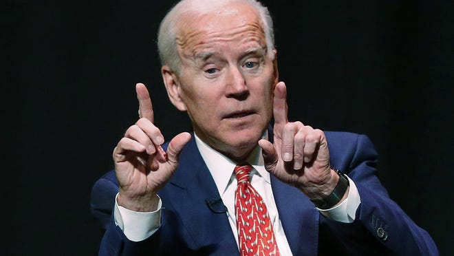 Former Vice President Joe Biden has been conspicuously absent from early voting states as he weighs a 2020 presidential campaign. That makes him an outlier among Democrats eying the White House.
