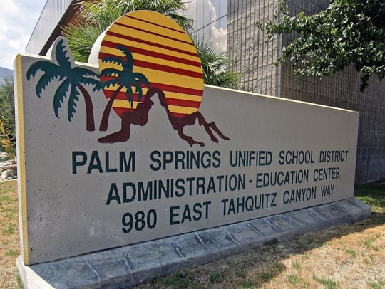 Palm Springs Unified School District.