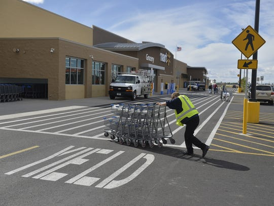 Walmart opened a second Great Falls store on the city's