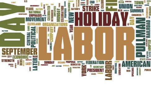 Local offices will be closed Sept. 7 in observance of the Labor Day holiday.