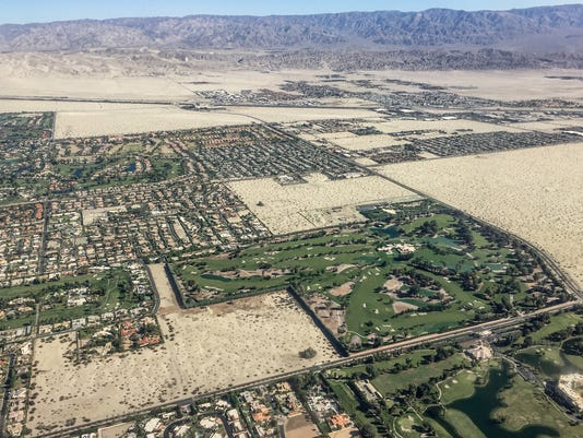 Coachella Valley aerial