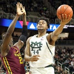 Avoiding 'dumb mistakes' a key for Spartans' Nick Ward in Ohio return