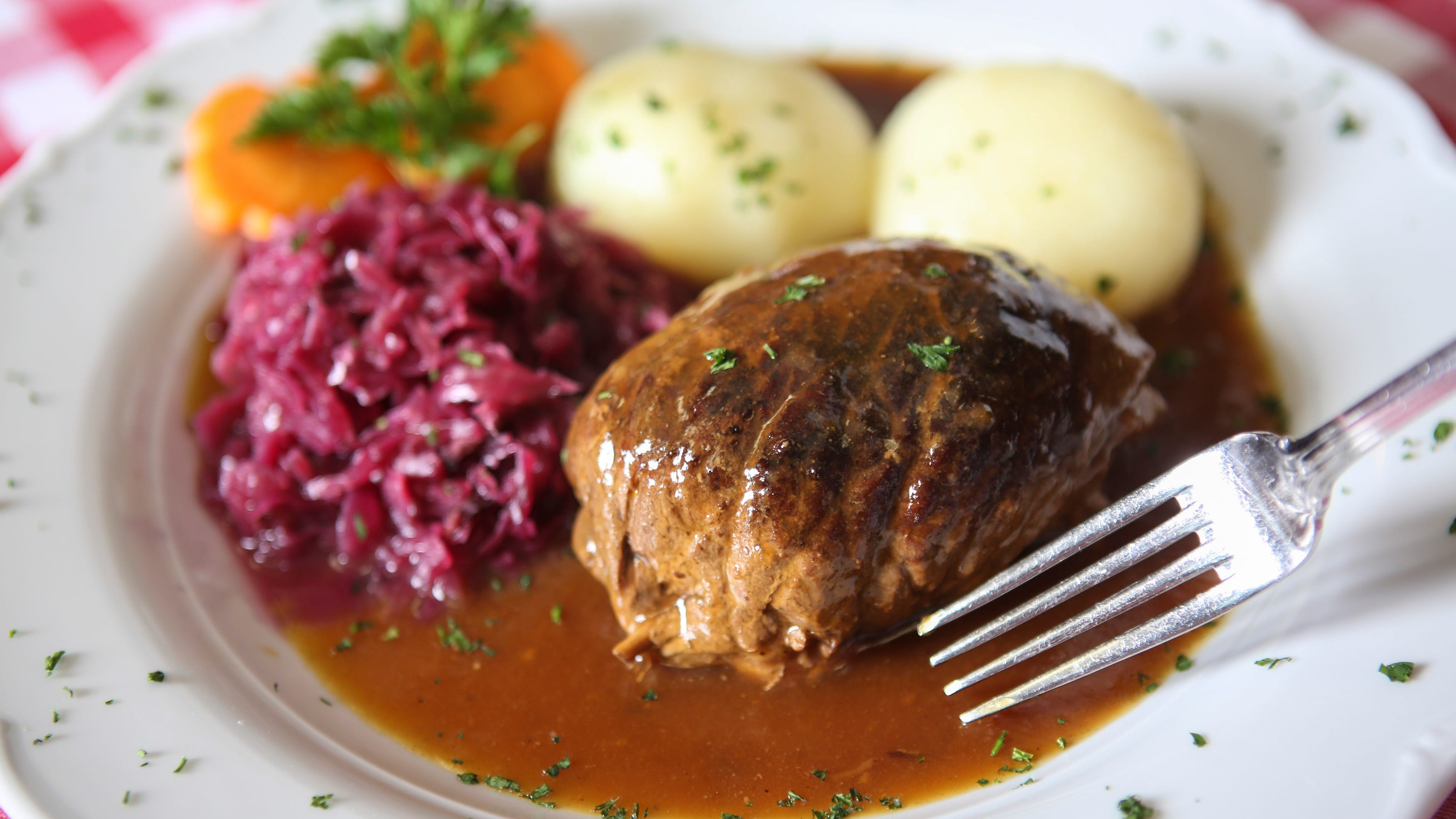 Gasthaus recipe for potato dumplings