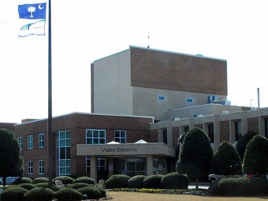 Baptist Easley Hospital.