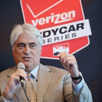 Some drivers and others criticized IndyCar following the MAVTV 500 at Auto Club Speedway in Fontana, Calif.