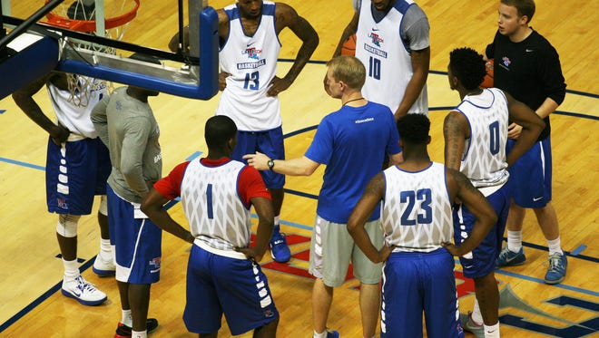 Louisiana Tech will be without forward Merrill Holden for the foreseeable future due to a hand injury.