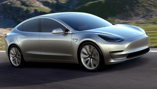 Tesla 3 sedan