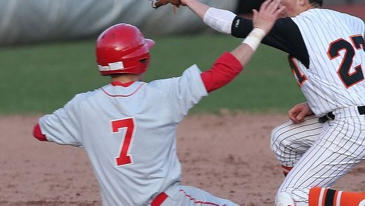 North Rockland defeated Mamaroneck 4-1 in a boys baseball game at Mamaroneck High School April 6, 2016.