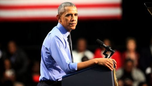 President Barack Obama speaks to Flint residents about the water contamination issue at Northwestern High School Wednesday, May 4, 2016 saying.
